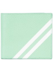 Thom Browne Billfold Cardholder Men Calf Leather One Size Green