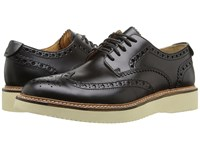 Sperry Gold Lug Wingtip Brogue Oxford Black Men's Lace Up Wing Tip Shoes