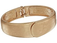 The Sak Small Overlap Hinged Bangle Bracelet Gold Bracelet