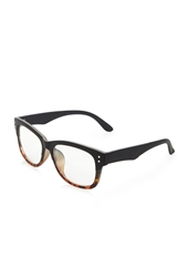 Forever 21 Matte Ombre Tortoise Readers Black Brown