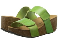 Eric Michael Cody Pistachio Women's Wedge Shoes Green