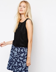 Vero Moda Clare Sleeveless Top Black