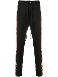 Greg Lauren Striped Slim Fit Trackpants 60