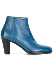 A.F.Vandevorst Side Zip Boots Blue