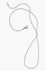 Lagos 'Luna' Long Micro Bead And Pearl Necklace Silver Pearl