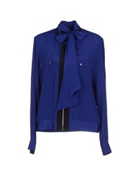 Barbara Bui Shirts Bright Blue
