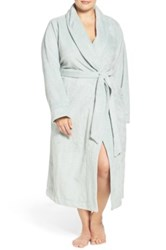 Nordstrom Terry Velour Robe Plus Size Blue