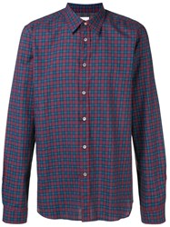 Paul Smith Ps By Check Shirt Red