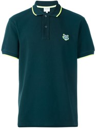Kenzo Mini Tiger Polo Shirt Green
