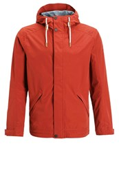 Vaude Califo Hardshell Jacket Cherrywood Dark Red