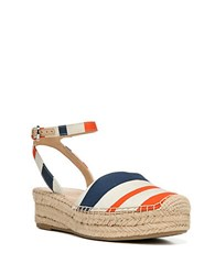 Franco Sarto Lariza Platform Espadrilles Multi Colored