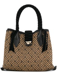 Jimmy Choo Marianne Shopper Tote Black
