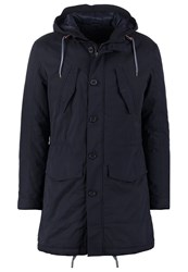 Sisley Parka Navy Dark Blue