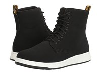 Dr. Martens Rigal Mh Black Sandwich Mesh Synthetic Nubuck Boots