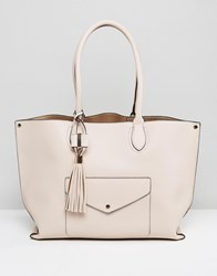 Dune Dockie Tote Bag With Front Pocket Gold