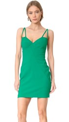 Black Halo Behati Mini Dress Agave Green