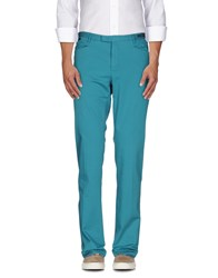Pt01 Ghost Project Trousers Casual Trousers Men Turquoise