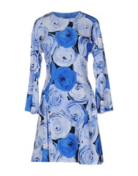 Moschino Cheap And Chic Knee Length Dresses Blue