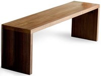 Gus Design Group Plank Dining Bench Natural