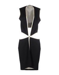Bouchra Jarrar Dresses Short Dresses Women Black