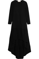 Antonio Berardi Crepe Coat Black
