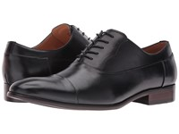 Steve Madden Poter Black Men's Lace Up Cap Toe Shoes