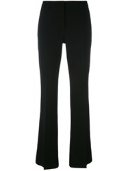 L'autre Chose Flared Trousers Women Polyester 44 Black