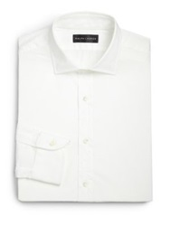 Ralph Lauren Black Label Classic Fit Bond Poplin Dress Shirt White