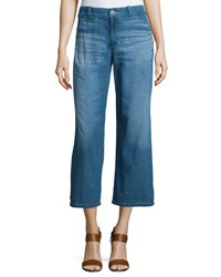 Ag Jeans Ag The Bobbie Wide Leg Cropped Jeans Weekend Getaway Size 24