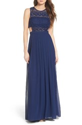 Aidan Mattox Women's By Illusion Gown
