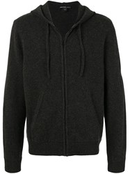 James Perse Fine Knit Hoodie Grey