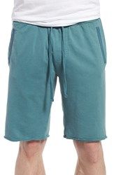Zachary Prell Men's 'Santa Croce' Cotton Shorts Teal