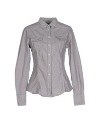 Bagutta Shirts Shirts Women Dove Grey