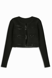 Alaia Women S Vienne D'hiver Cardigan Boutique1 Black