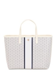 Tory Burch Gemini Link Small Tote Ivory