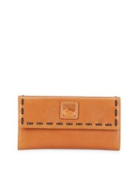 Dooney And Bourke Tri Fold Leather Wallet Natural