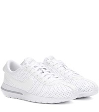 Nike Roshe Cortez Nm Perforated Leather Sneakers White