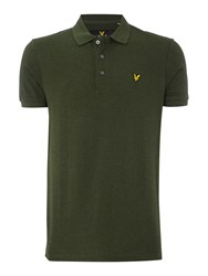 Lyle And Scott Short Sleeve Classic Polo Sage Green