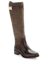 Louise Et Cie Yvon Leather Boots Brown