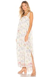 Spell And The Gypsy Collective Posy Maxi Dress Cream