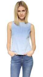 Ag Jeans Teagan Shell Top Blue Light