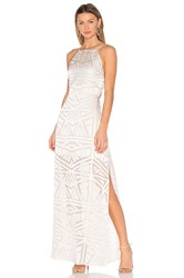 Capulet Anais Halter Maxi Dress White