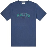 Saint Laurent Malibu Print Tee Blue