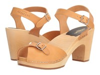 Swedish Hasbeens Pia Super High Nature Women's Shoes Neutral