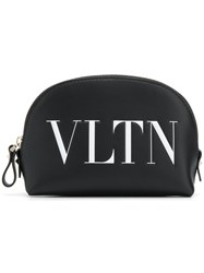 Valentino Garavani Vltn Makeup Bag Black