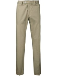 Kent And Curwen Classic Chinos Men Cotton 50 Brown