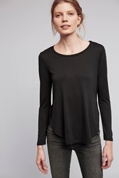Anthropologie Week's End Tee Black