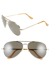 Randolph Engineering 'Concorde' 61Mm Polarized Sunglasses Gold Grey Polarized