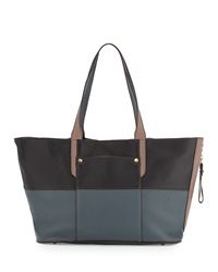 Oryany Tatianna Colorblock Tote Black Multi