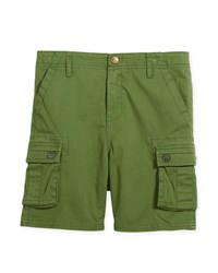 Appaman Mesa Cotton Stretch Cargo Shorts Size 2 10 Green